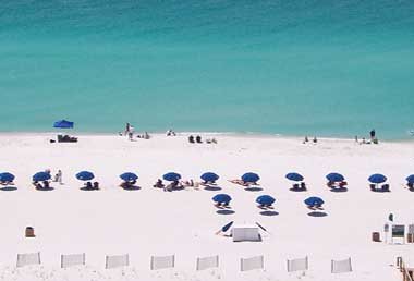 Gulf of Mexico at Pensacola Beach Home Rental